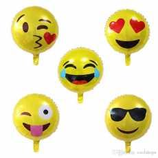 Pack of 4 Emoji Foil Balloons