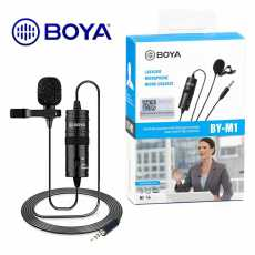 Boya By M1 Professional Collar Microphone For All Devices - Black
