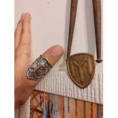 Original Kayi Tribe IYI Flag Drillis Ertugrul Thumb Ring
