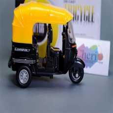 Toy Diecast 1:14 Auto Rickshaw Motor Tricycle Miniature Bemo Diecast Toy Best...
