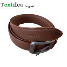 Leather Belt for men's Dark Brown Man Belt Textilea Original