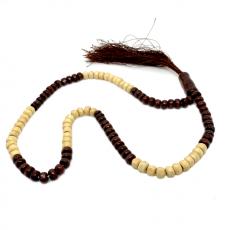 Wooden tasbeeh 100 beads