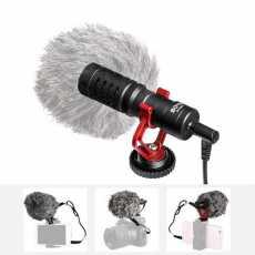 1 Year Warranty - BOYA BY-MM1 MM1 On-Camera Video Microphone Vlogging Mic