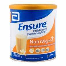 ENSURE VANILLA FLAVOURED NUTRIVIGOR MILK POWDER – 400gm