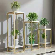 Pack of 3 simple indoor flower, standings plant stand, succulent shalf rack...