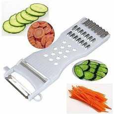 5 In 1 Cucumber Carrot Potato Slicer Peeler Grater Fruit Vegetable Speed Cutter
