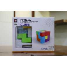 Magic Magnetic Cube 3D Puzzle For Kids