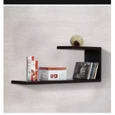 Wall Decor shelve original wood with possible ( black)