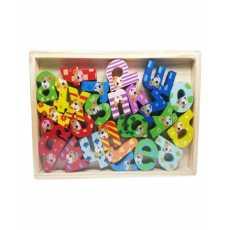 Wood - Small Alphabets