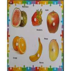 Fruit Knob Puzzle 6 Pcs
