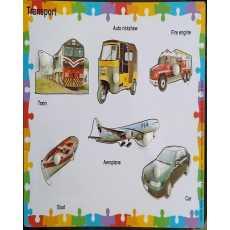 Amir Traderz Transport 6 Pcs Knob Puzzle