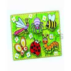 Insect Puzzle Long Lasting Knob