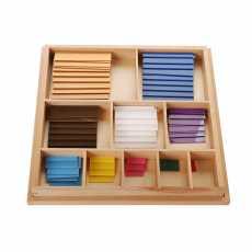 Montessori Square Of Pythagoras – 100 Pcs
