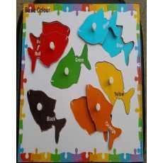 Amir Traderz Basic Color 6 Pcs Knob Puzzle