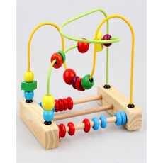 Puzzle Abacus Beads Around