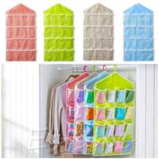 NEW DESIGN Storage Box 16 Pockets Clear Home Hanging tool Bag