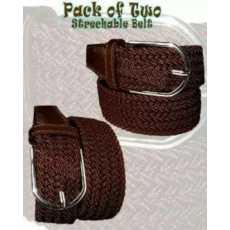 Pack of 2 Elastic belts for Unisex Elastic Modeling Belt For Men And Women