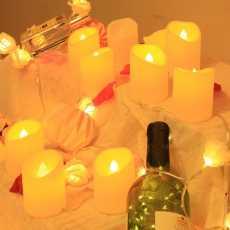 New Flameless LED Tea light Candle