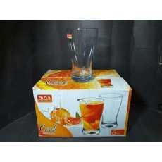 Nova Cool Water-Thumbler  glass 280Ml ( 6 peice set)