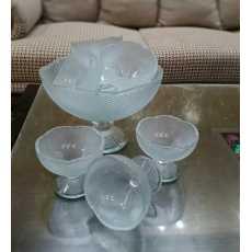 Glass fruit set-OMROC Autograph Costa 7 PCS FRUIT SET Glassware transparent...
