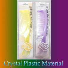 2 Pure Plastic Comb Handle