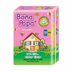 BONA PAPA BABY DIAPERS NEW BORN 50PCS