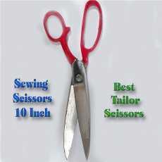 Falkon Best Tailor Scissors , Ladies and Men's Sewing Scissors 10 Inch  (...