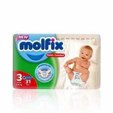 Molfix  BABY PANTS 3 MIDI 31 PCS
