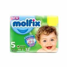 MOLFIX BABY DIAPERS 5 JUNIOR 30PCS
