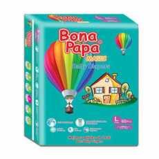 BONA PAPA BABY DIAPERS LARGE 60PCS