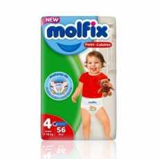 MOLFIX BABY PANTS 4 MAXI 56PCS