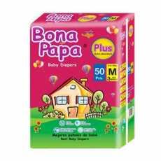 BONA PAPA BABY DIAPERS MEDIUM 50PCS