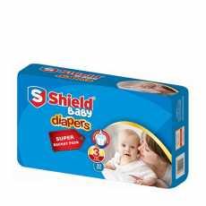 Shield BABY DIAPERS MEDIUM 30 PCS