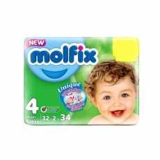 MOLFIX BABY DIAPERS 4 MAXI 32PCS