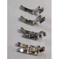 (4 PCS) Pack of Flexible Sewing Machine Pressure & zipper Foot
