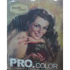 Iman of Noble Pro Color 4 Color bronzer and 6 color eyeshadow Palette