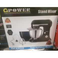 G Power Stand Mixer - Powerful Motor 1200 Watt - Two Bowls Stainless steel...