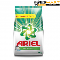 Ariel Original Detergent Washing Powder, 3Kg Pack