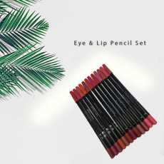Pack Of 12 Lip pencils in multi color