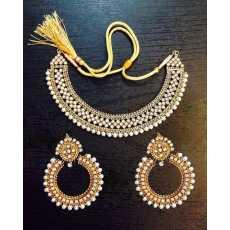Antique Kundan Jewelry Set for Women