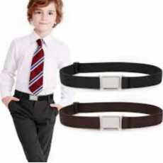Pack Of 1 Braided Elastic Stretch Belt For Kids