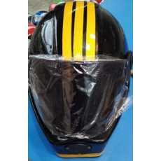 Bike riders helmet stylish three line graphics