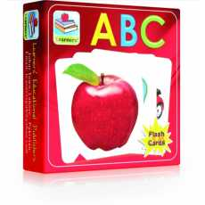 Small Flash Cards of ABC(Capital English Alphabets) Pocket Size  Export Quality