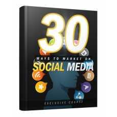 30 Ways to Marketing  on Social Media ebook