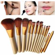 Special Edition Makeup Brushes Kit with A Storage Box - Set of 12
