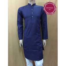 Navy Blue Kurta For Men