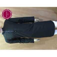 Arif & Sonss Black Collar Neck Design Blue Patti Kurta For Men A106