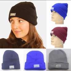 LED Knitted Hat Wool LED Flashlight Cap Reading Work Hats Winter Warm Cap...