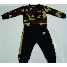 Winter New Children'S Clothing  Jacket + Pants Foji, Military, Army Pattern