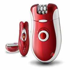 Brown Kemei 3068 ( 3 In 1 ) Rechargeable Electric Lady Shaver Hair Removal...